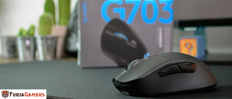 Logitech G703, un mouse inalámbrico compatible con PowerPlay