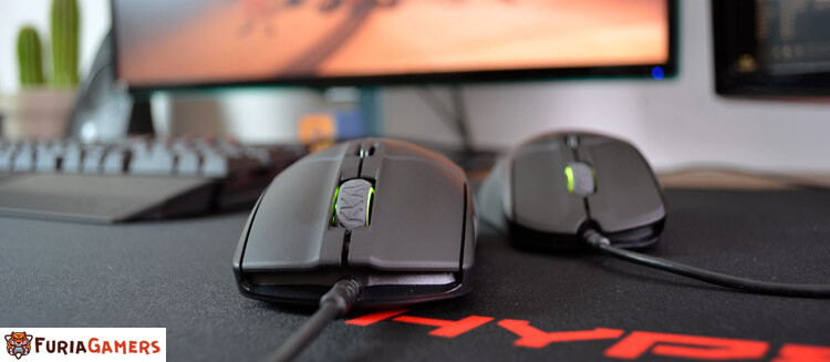SteelSeries Sensei vs Rival Mouse