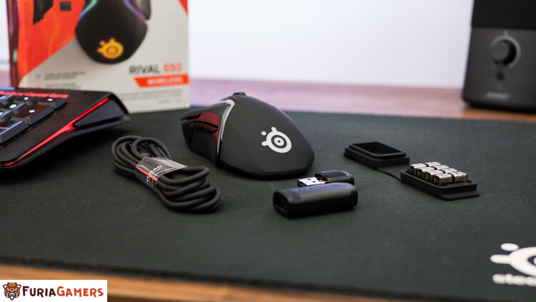 Unboxing Rival 650
