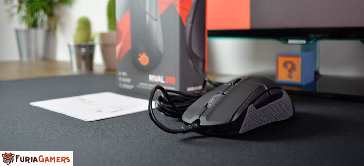 Desembalaje del mouse SteelSeries Rival 310