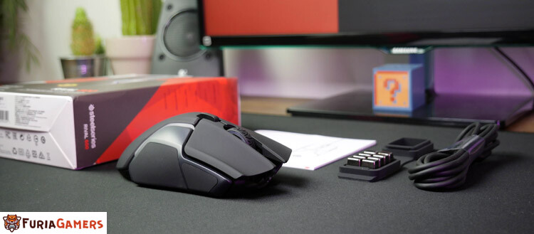 Unboxing SteelSeries Rival 600