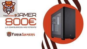 PC GAMER 800€ - FURIA GAMERS