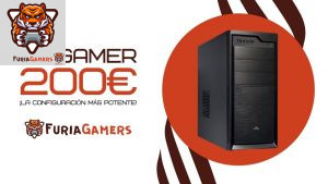 PC GAMER 200€ - FURIA GAMERS